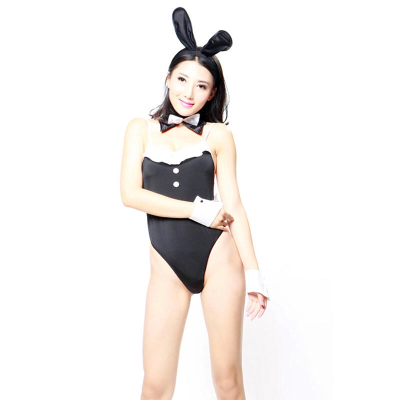 STACEY/史黛丝  COS服角色扮演  兔女郎连体衣套装 -美咻咻商城