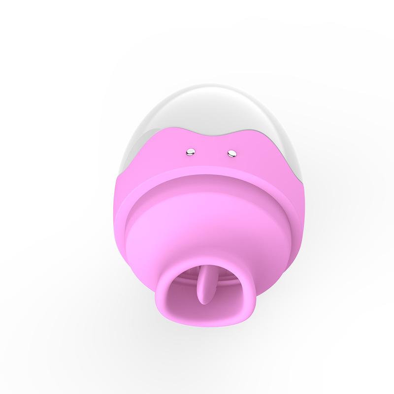 蒂贝 女用自慰器震动充电跳蛋舌舔器吸乳头吸阴器-美咻咻商城