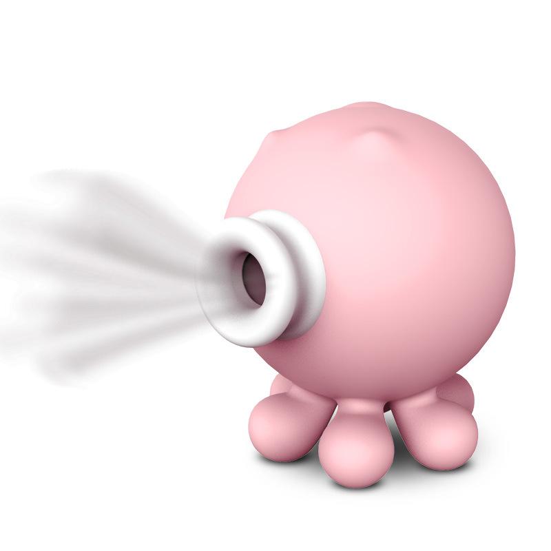 谜姬 小章鱼成人用品女用自慰器震动充电硅胶吮吸按摩器 -美咻咻成人情趣商城