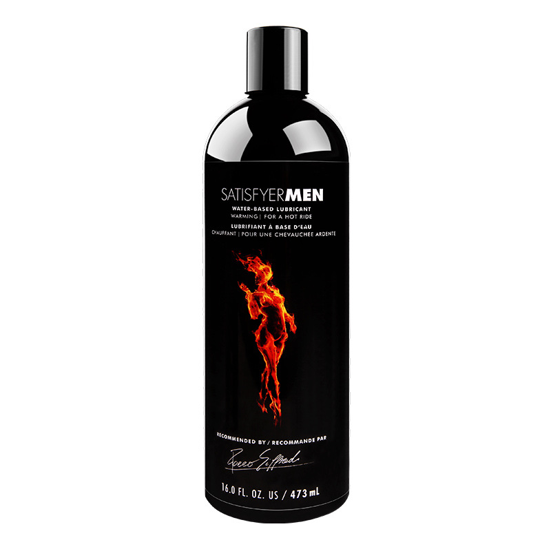 Satisfyer Men 大容量夫妻房事热感凉感爽滑润滑剂+消毒湿巾-美咻咻商城