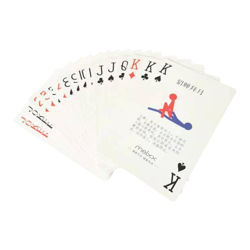 20副100元包邮 meixx夫妻情趣挑逗前戏体位扑克牌-美咻咻商城
