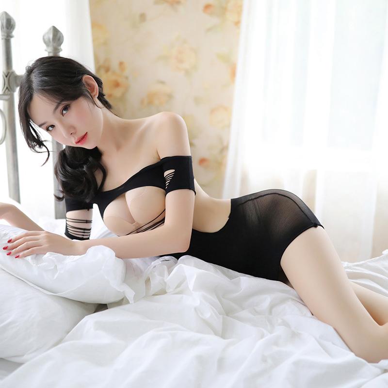 诱惑丝袜吊带性感连身袜套装-美咻咻商城