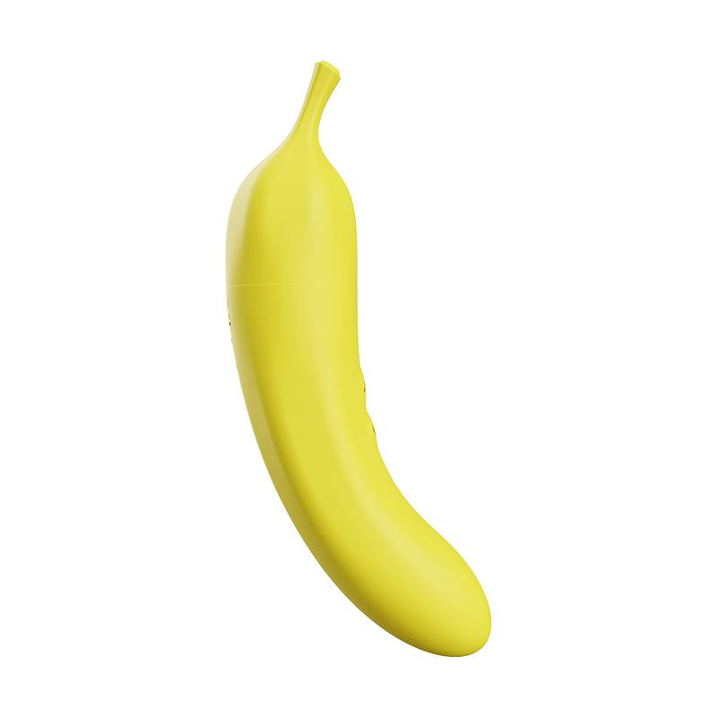 蒂贝 女用情趣香蕉吮吸震动G点按摩棒-美咻咻商城