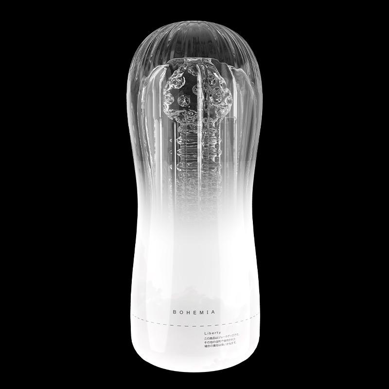 Rends 波西米亚 成年男用情趣日本锻炼自慰透明飞机杯-美咻咻商城
