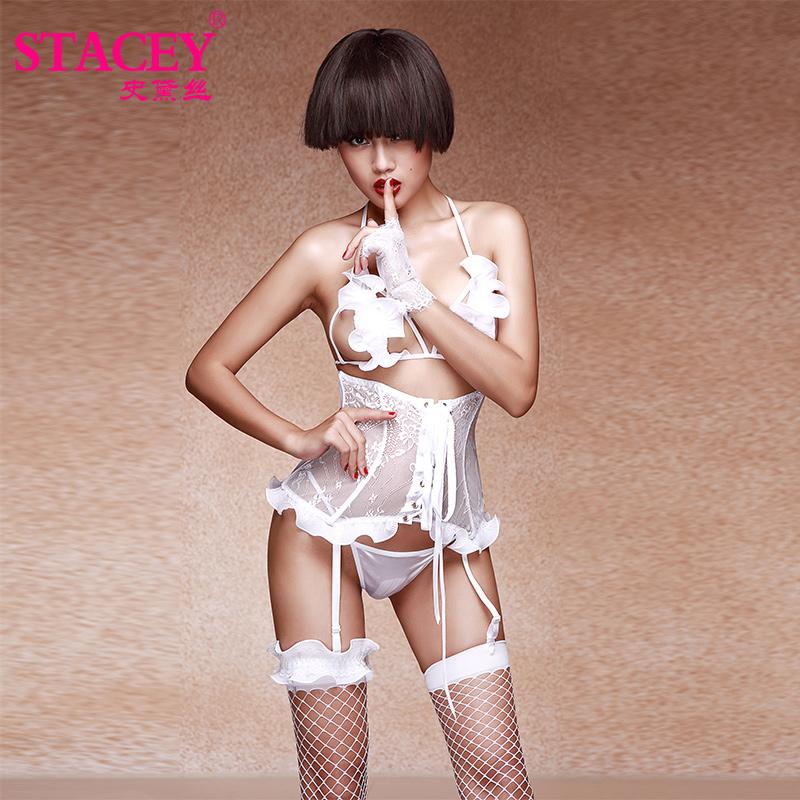 雪莲花束身三点式套装史黛丝-美咻咻商城