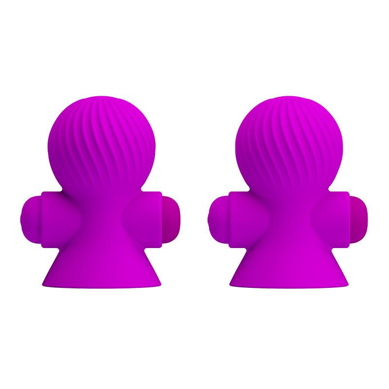 派蒂菈  充电深度防水硅胶吸奶灵尖峰热爱乳房震动器-美咻咻商城