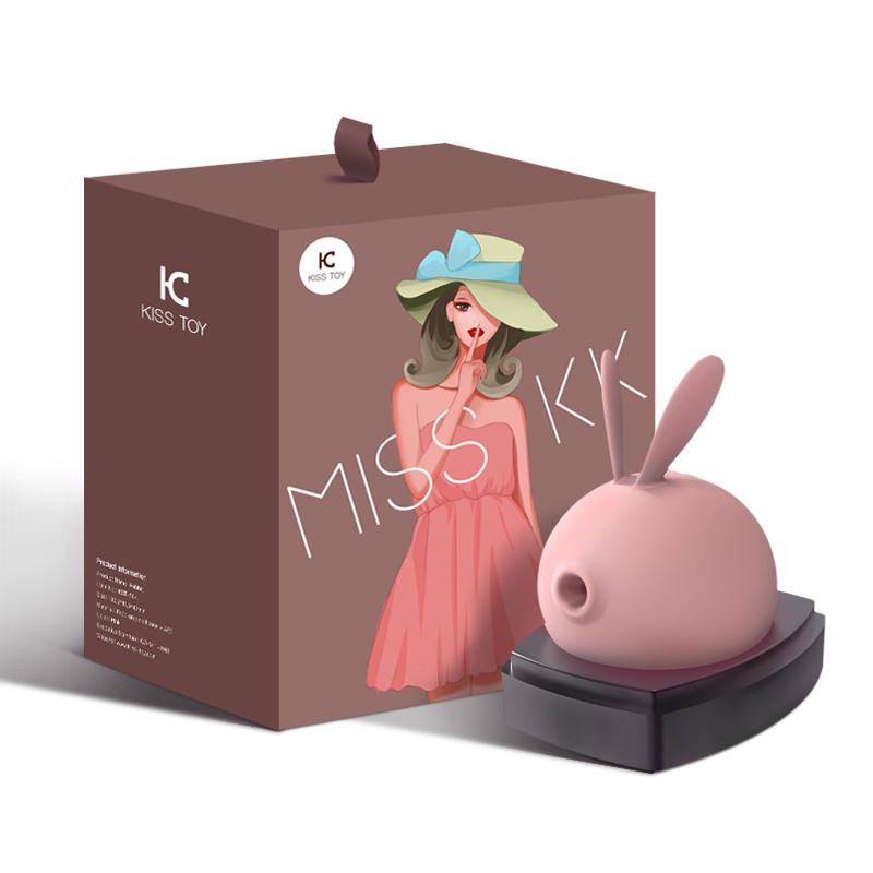KISS TOY成人情趣女性用品Miss KK兔子震动吮吸跳蛋-美咻咻情趣用品商城