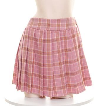 性感女学生半身裙百春夏女学生韩版短款高腰修身褶裙-美咻咻情趣商城