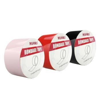 美加奴 男女SM另类激情情趣捆绑静电胶带三色组合装-美咻咻情趣用品商城