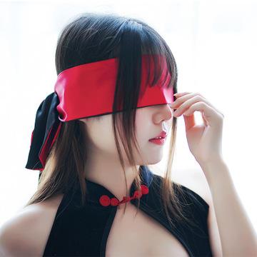 情趣成人调情绸带眼罩布绸带可作绑带腰带-美咻咻商城