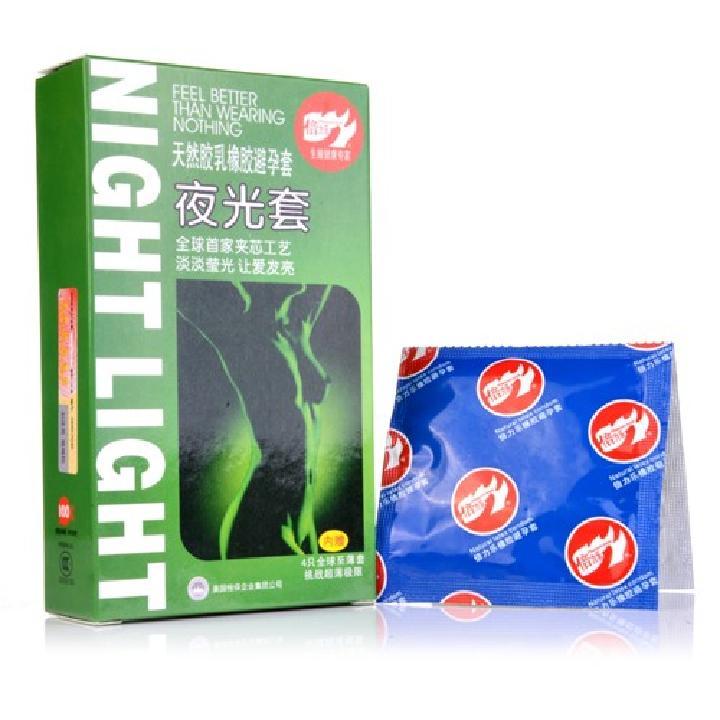 倍力乐 创意夜光+超薄安全套7只装-美咻咻成人情趣商城热卖商品