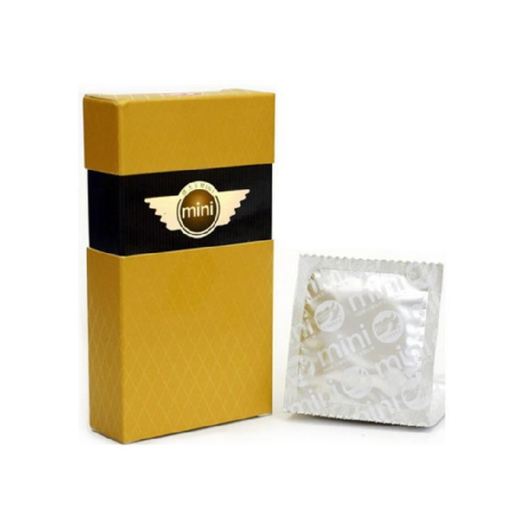 倍力乐 小时代MINI水润纤薄安全套10只装(蓝黄包装随机发)-美咻咻商城