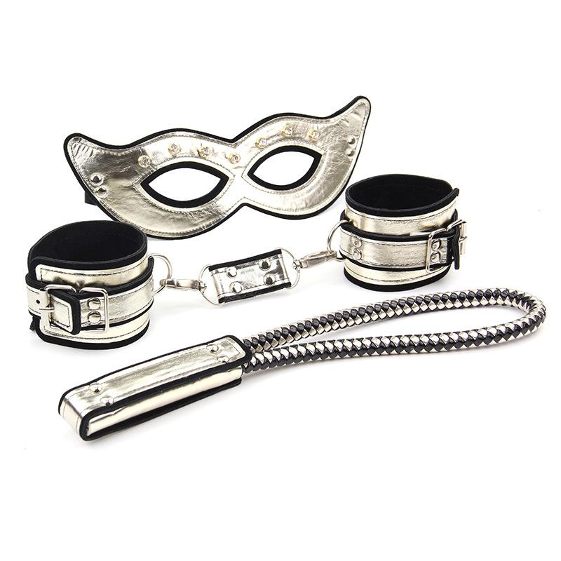 房趣 情趣调情成人用品激情游戏SM道具女王3合1捆绑眼罩套装-美咻咻情趣用品商城